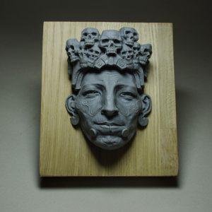 mayan resin cast