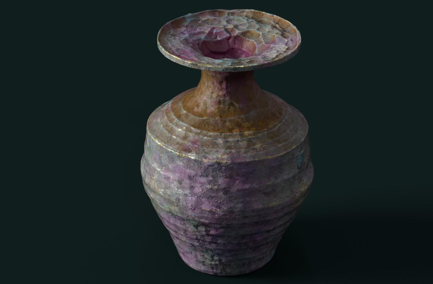 PAINTER vase standard render test 3
